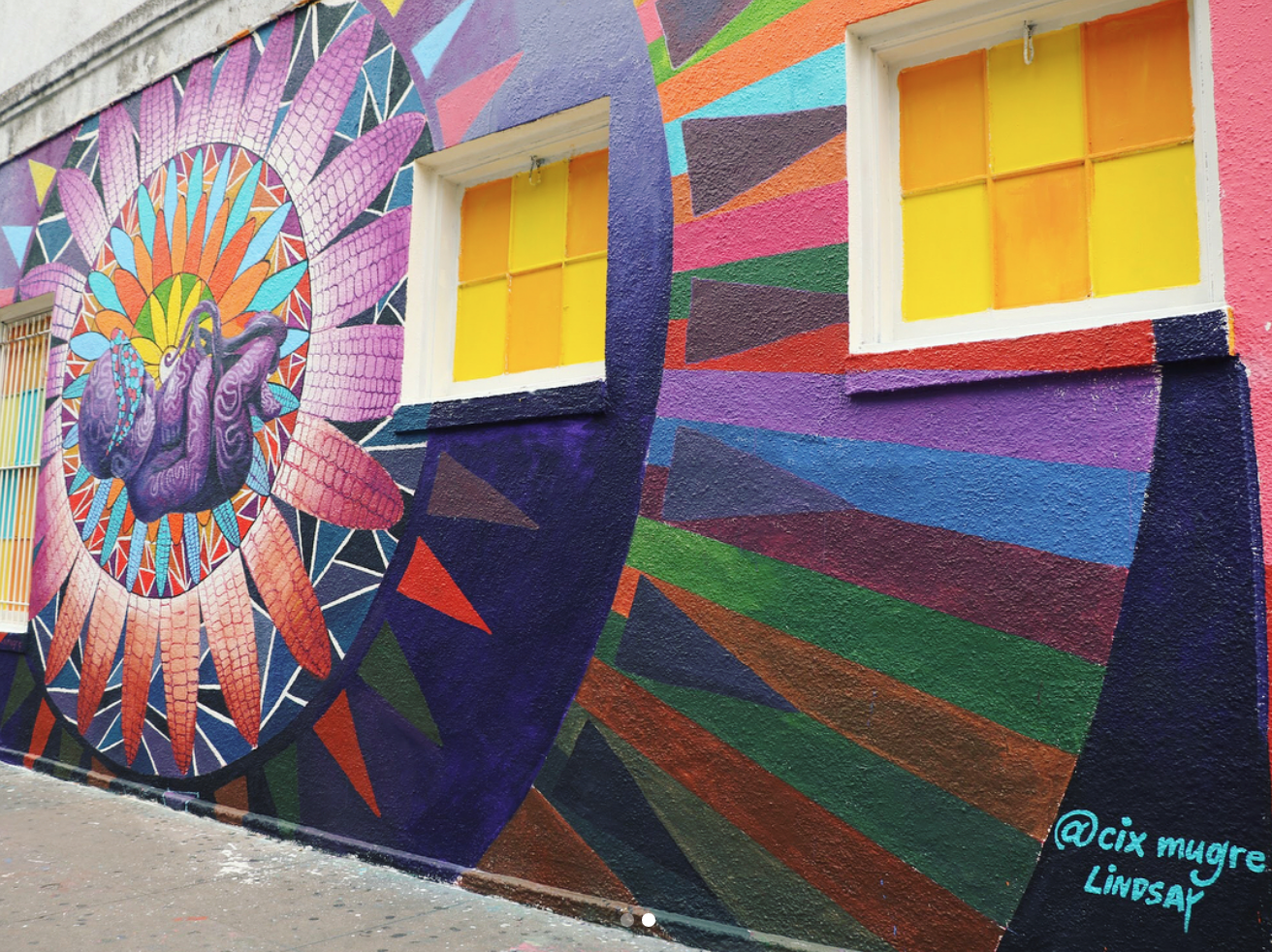 Mural Artists Complete Austin Artwork on Fifth Street and Congress - Downtown