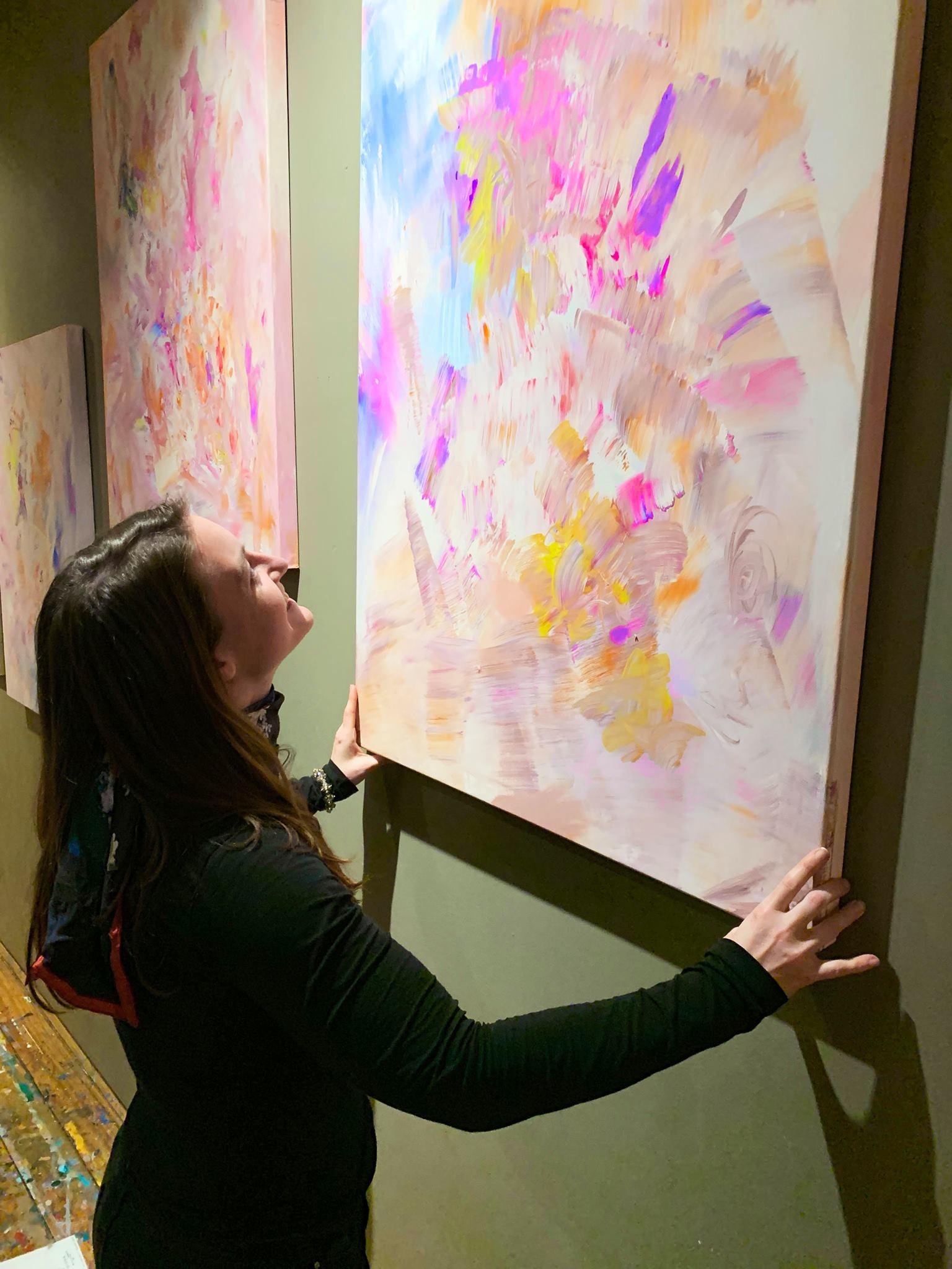 Houston Artist Lindsay Burck