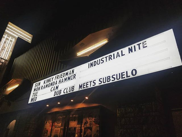 We are here! #Dubsuelo 🌴 Doors open at 9, Free b4 10PM, $10 after.  Enter through the echoplex on Glendale Blvd.