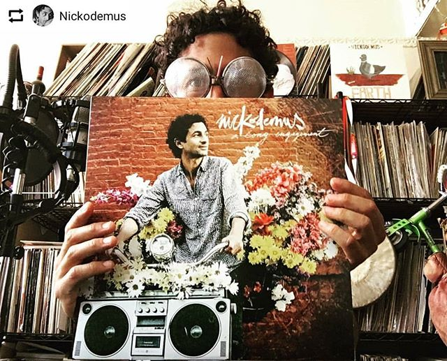 Congrats @nickodemusnyc!  #Repost from @Nickodemus ••• My 4th album, but 1st full album on vinyl! 2XLP #alongengagement is out today! Thanks to everyone on the record & off who's collaborated & helped the kid all along the way! Link in bio for the LP, CD, digital, stream. Let's keep this party going! #nickodemus #allovertheplace #ilovevinyl #inthecrate @wonderwheelrecordings 🌍❤️🎡