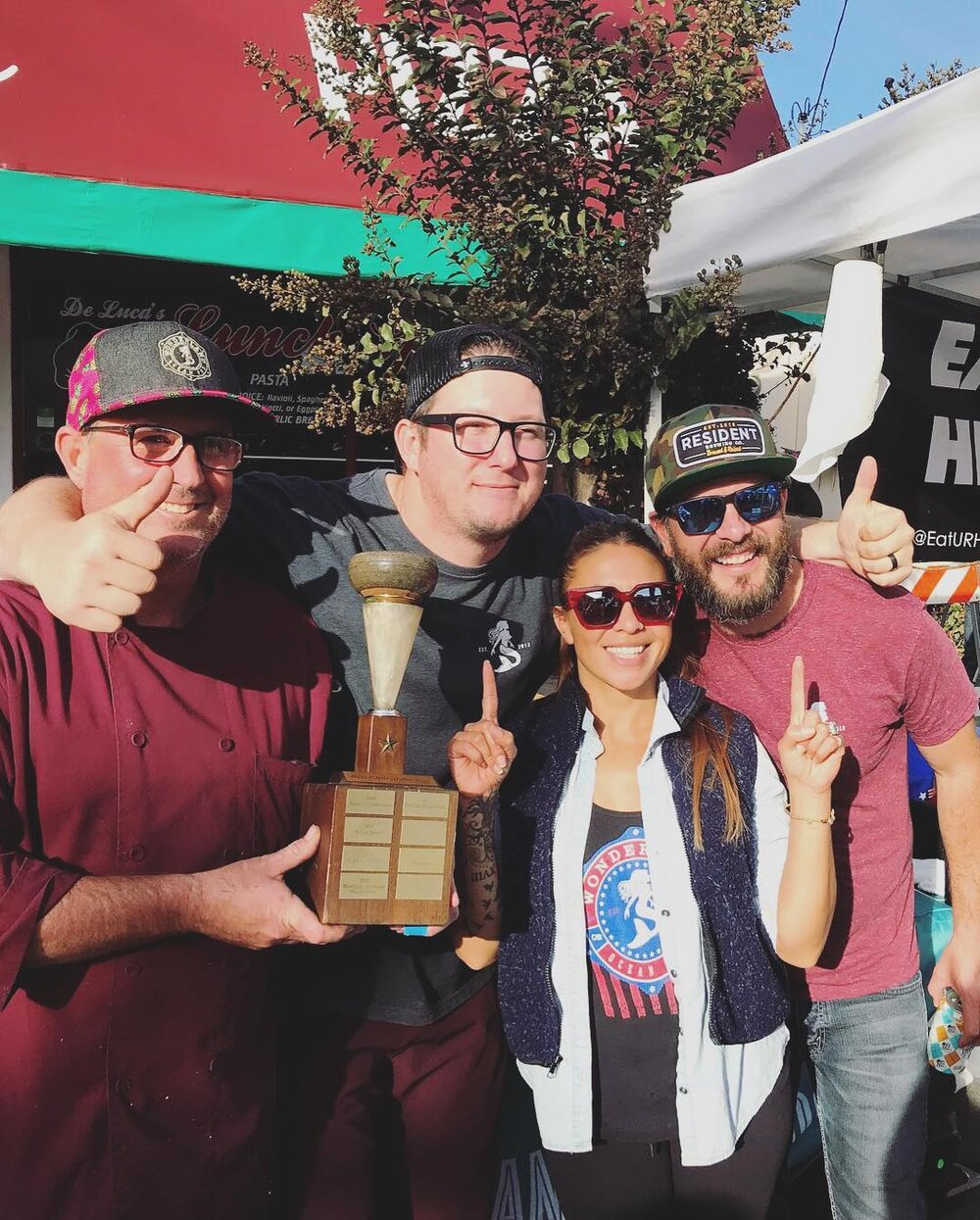 The Wonderland Ocean Pub crew were first time SoNo Fest competitors and won Best Overall!! Congratulations!