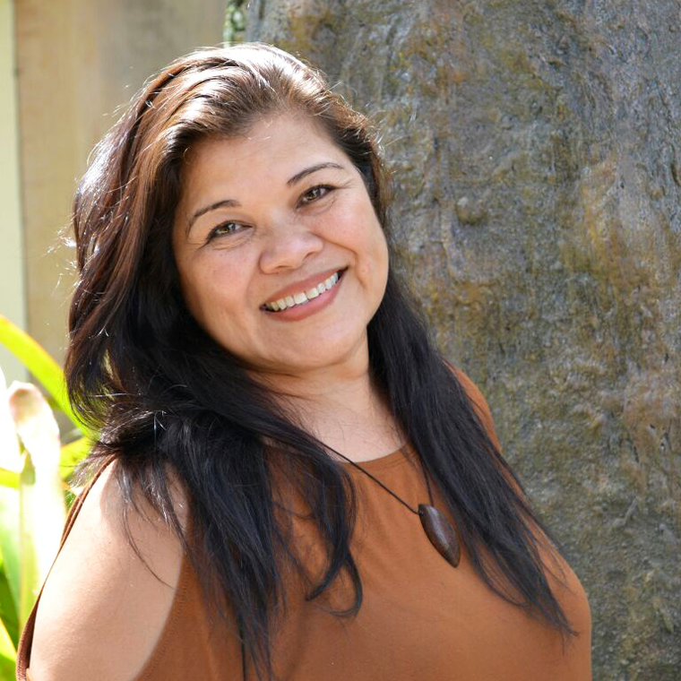 Sainan Guinifi | Anna Marie B. Arceo  Founder • President • CEO    Over 30 years of advocacy in the Chamoru language and culture, Consultant, Subject Expert, Performing Artist, Decorator