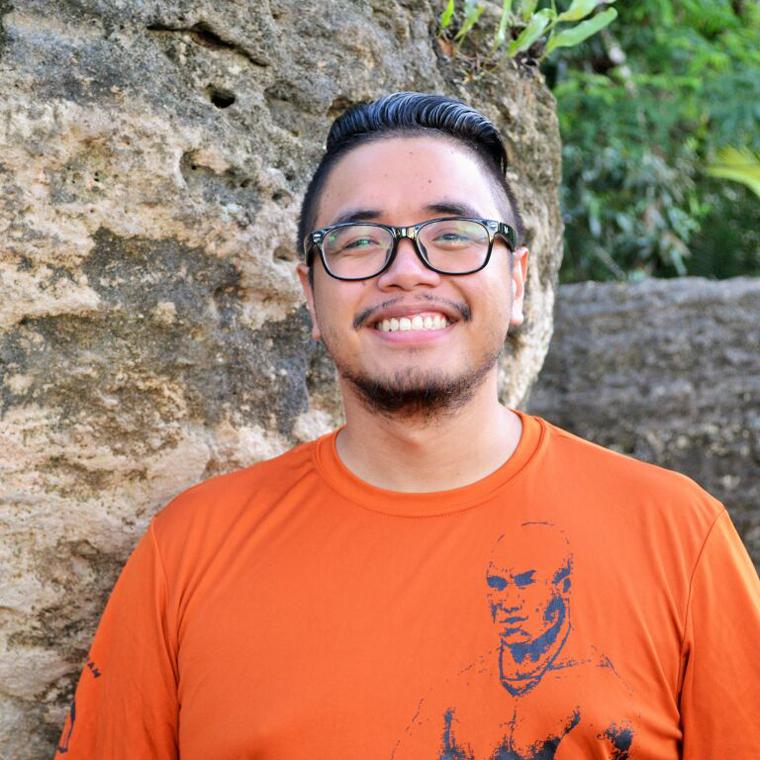 Che'lon Tåno' | John Mabayag    Pineksai-Chamoru Immersion Advocate, Social Media Coordinator    Chamoru Speaker, Special Agent, NBIB