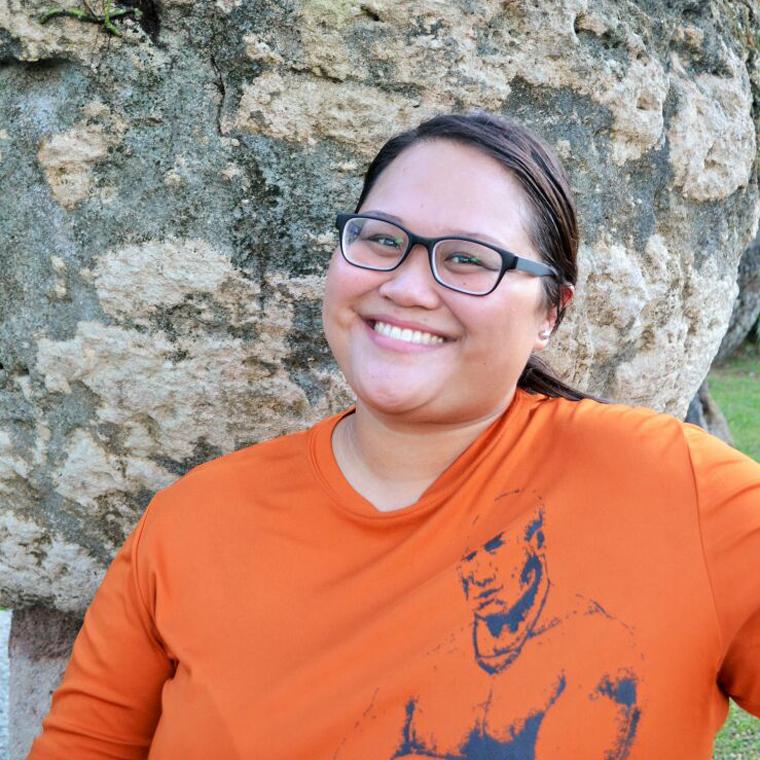 Sainan Magåhet | Kristin Uson    Pineksai-Chamoru Immersion Educator    Sociology Major, Business Major