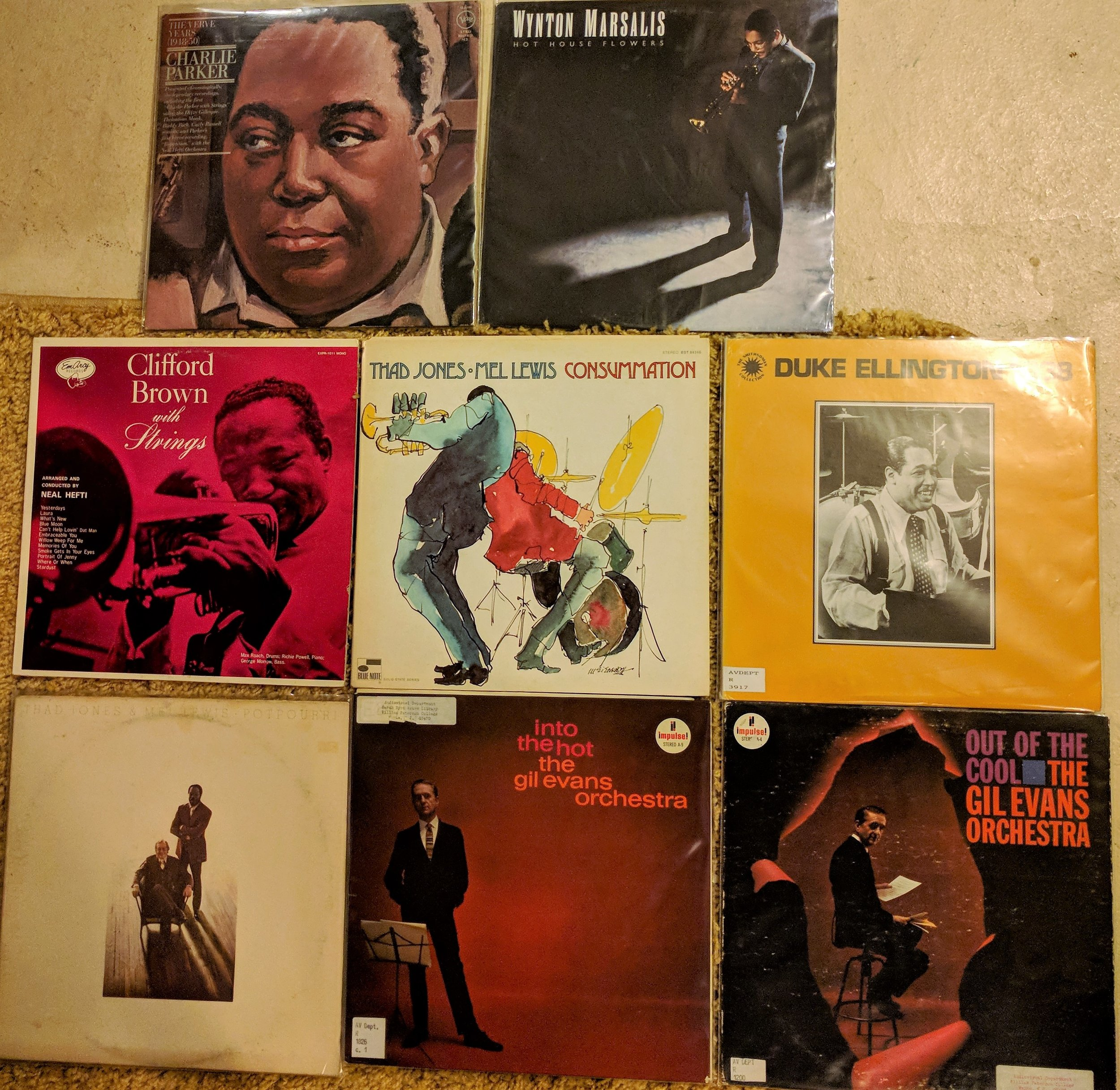 Records I checked out.jpg