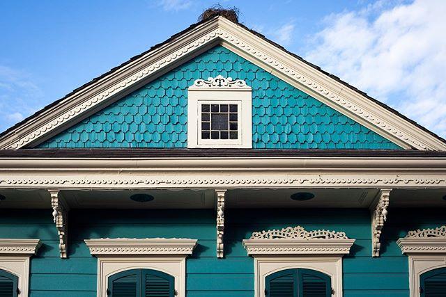 Rooftop Nest Architecture   New Orleans Eric J. Nunez . . #neworleans #nola #architecture #artistsoninstagram #architecturephotography #achitexture #frenchquarter #streetphotography #localartist #thisisnola #followyournola