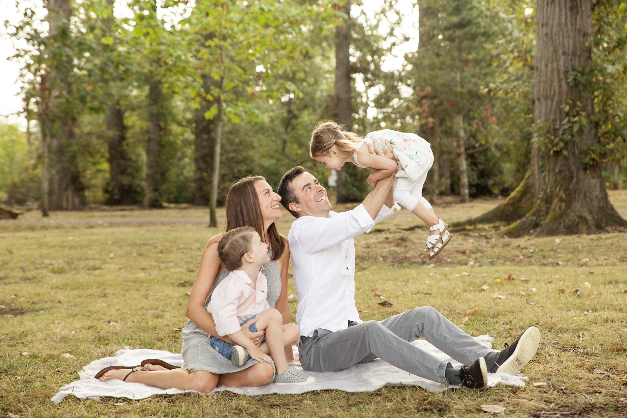 Beach Grove Family Photo Session