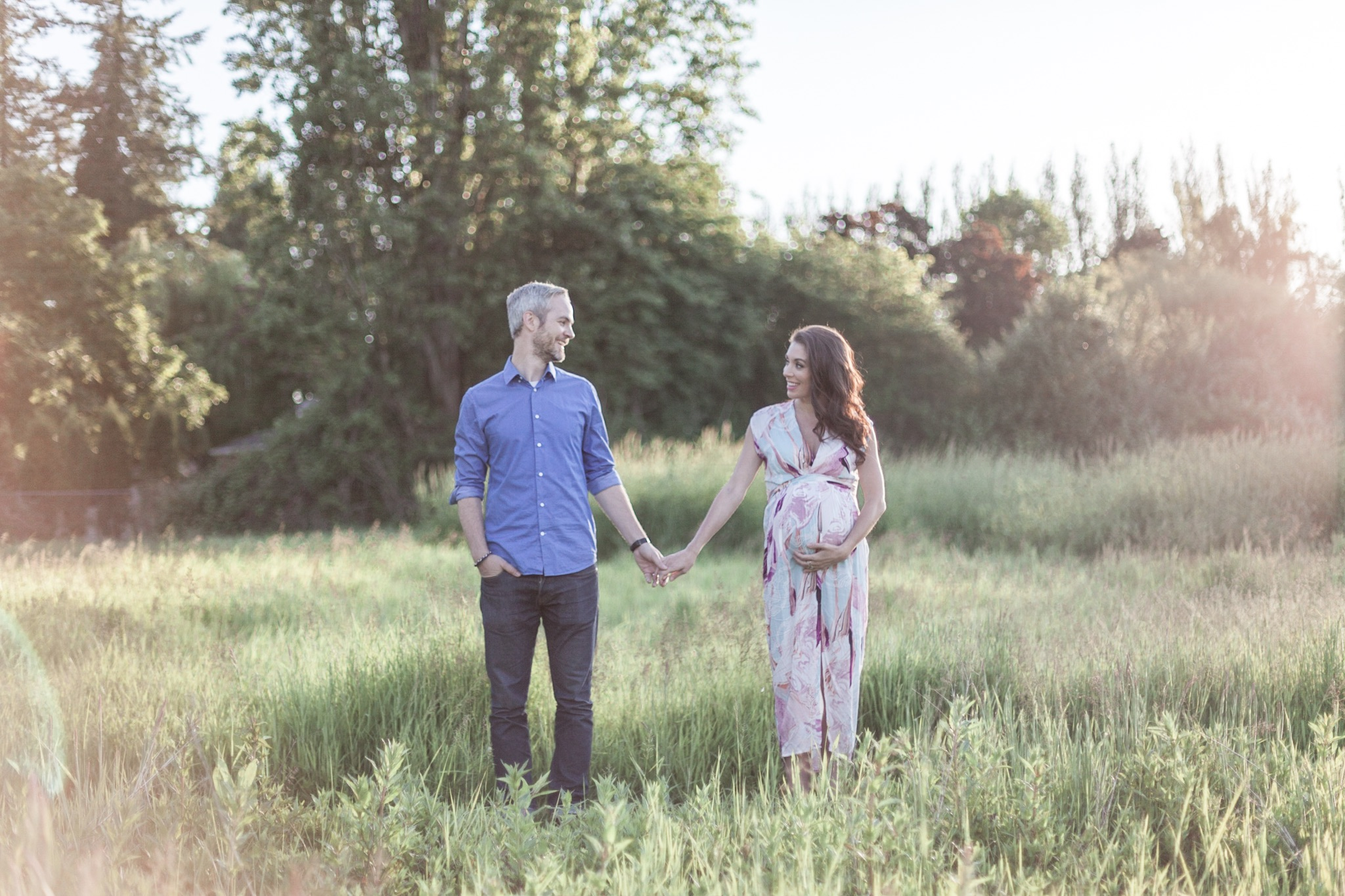 Boundary Bay Maternity Photo Session
