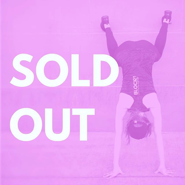 Class is sold out tonight 👯♀️ Be sure to reserve your space online if you wanna twerk with us 🍑