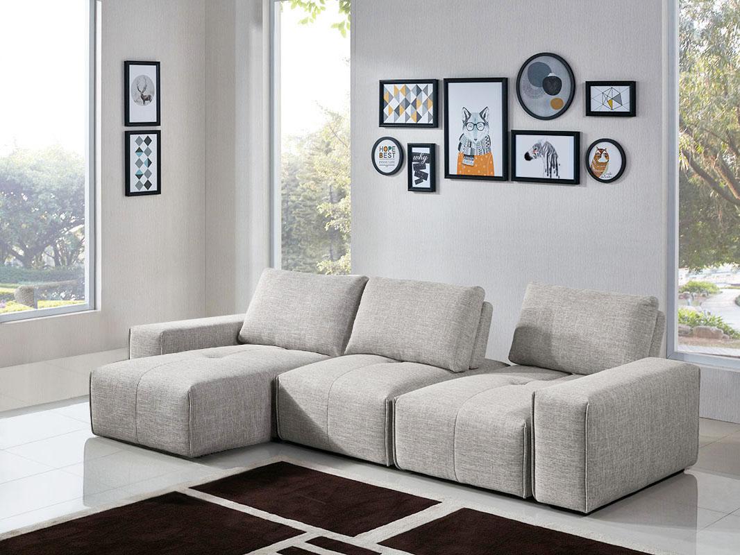5PC Configuration (2 x Armless Chair, 2 x Arm, Chaise)