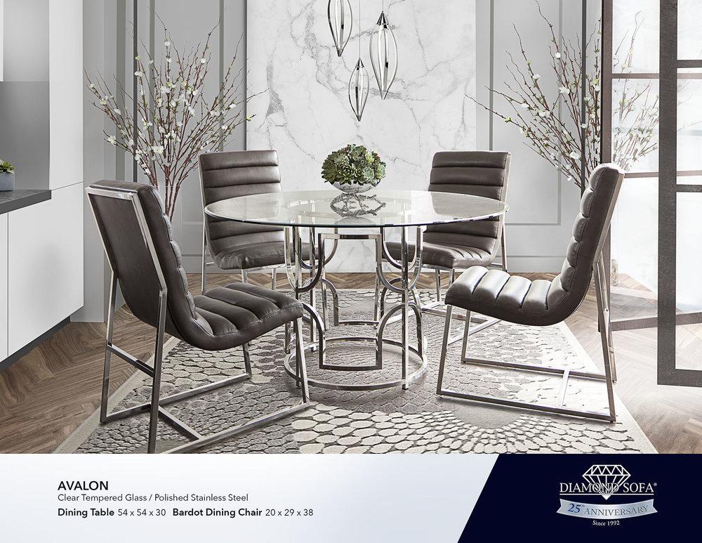 Dining Room Diamond Sofa, Diamond Furniture Living Room Sets