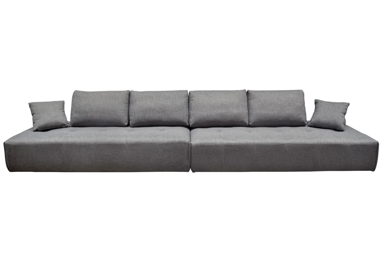 2 Loungers as an extra wide sofa