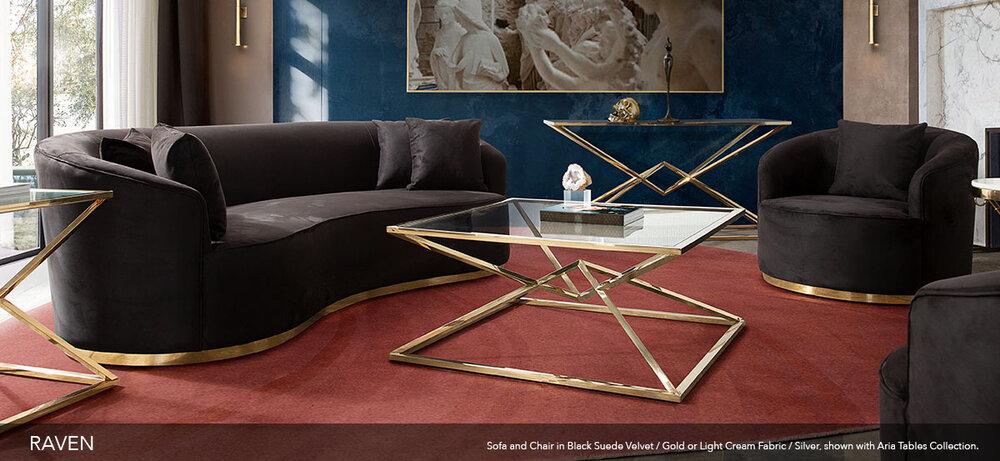 Diamond Sofa, Diamond Furniture Living Room Sets