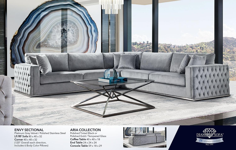 Living Room Diamond Sofa, Diamond Furniture Living Room Sets
