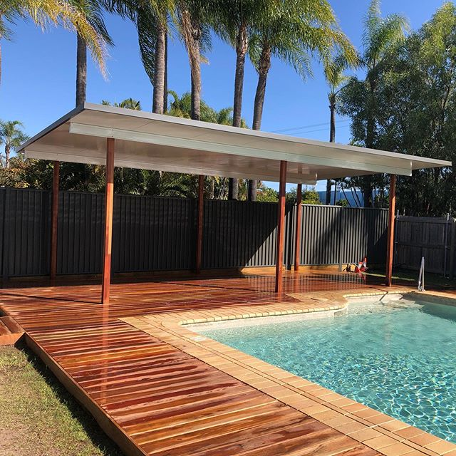 And that's a wrap! #queensland #deck #deckdesign #pergola #retirement #401k #travel #construction #renovation