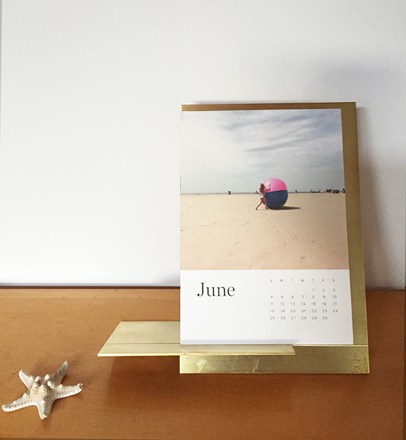 Easy calendar that starts the month you make it! Brilliant!