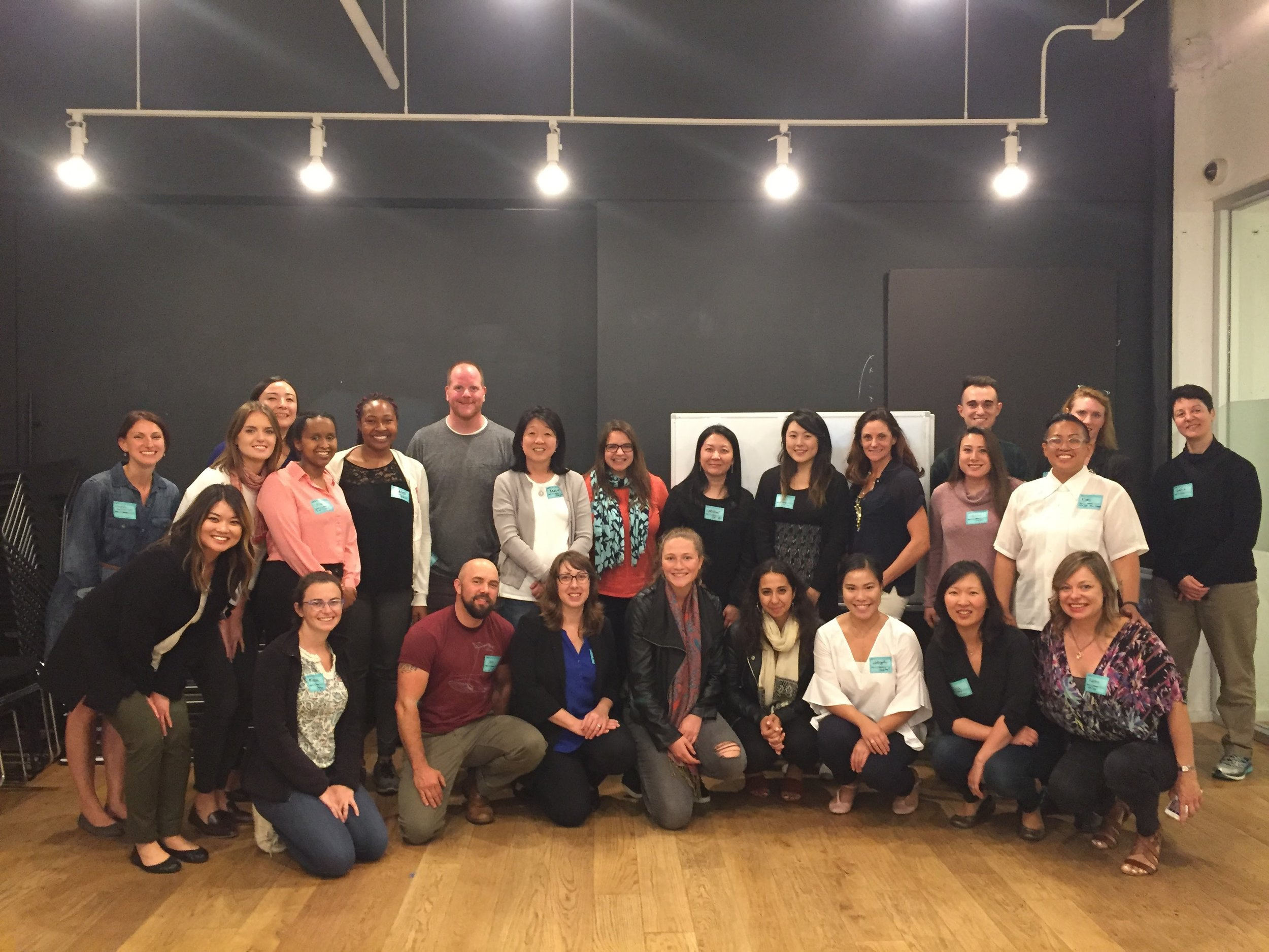 Awaken Team and Inclusive Leadership Program Series Participants in 2017