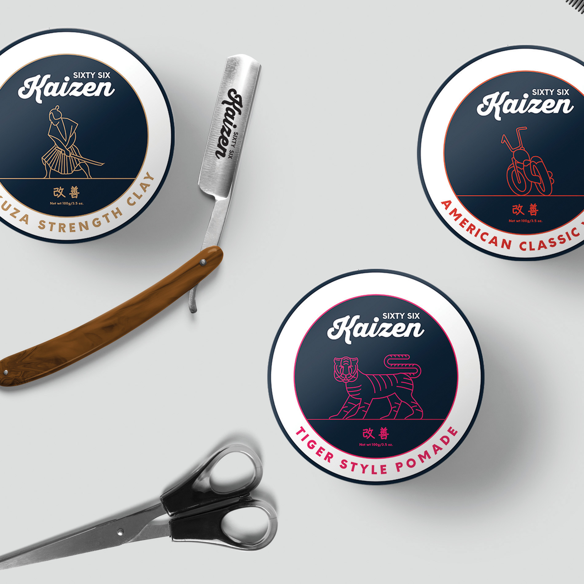 SIXTY SIX KAIZEN  Branding