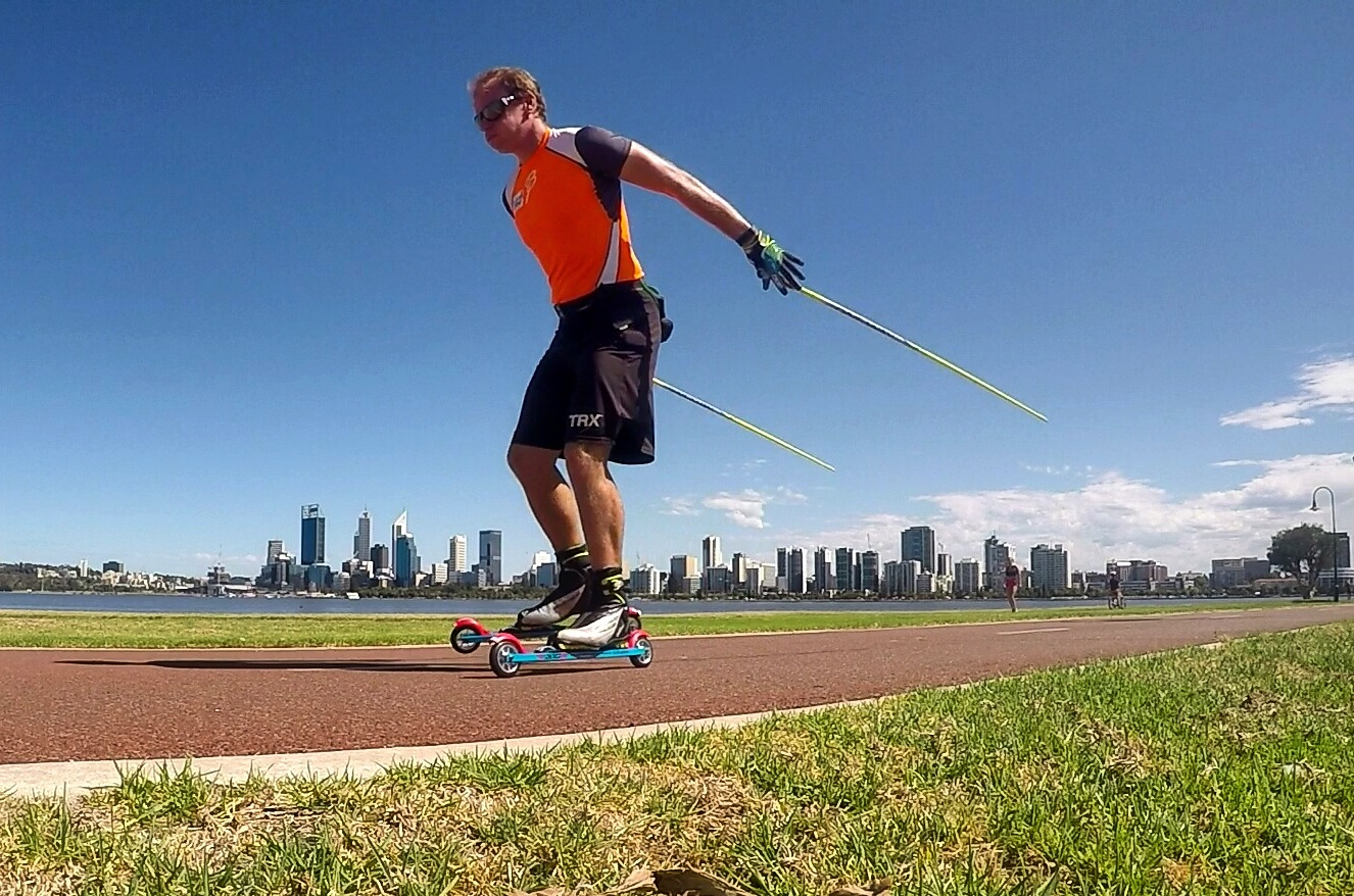 Roller skiing in Perth WA