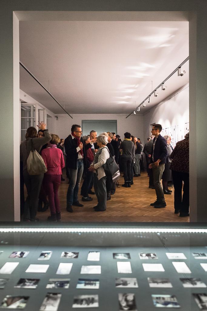 Eröffnung der Ausstellung im Biuro Wystaw | Warschau, 5. November 2016                                                                           Foto: Adam Burakowski | Goethe Institut