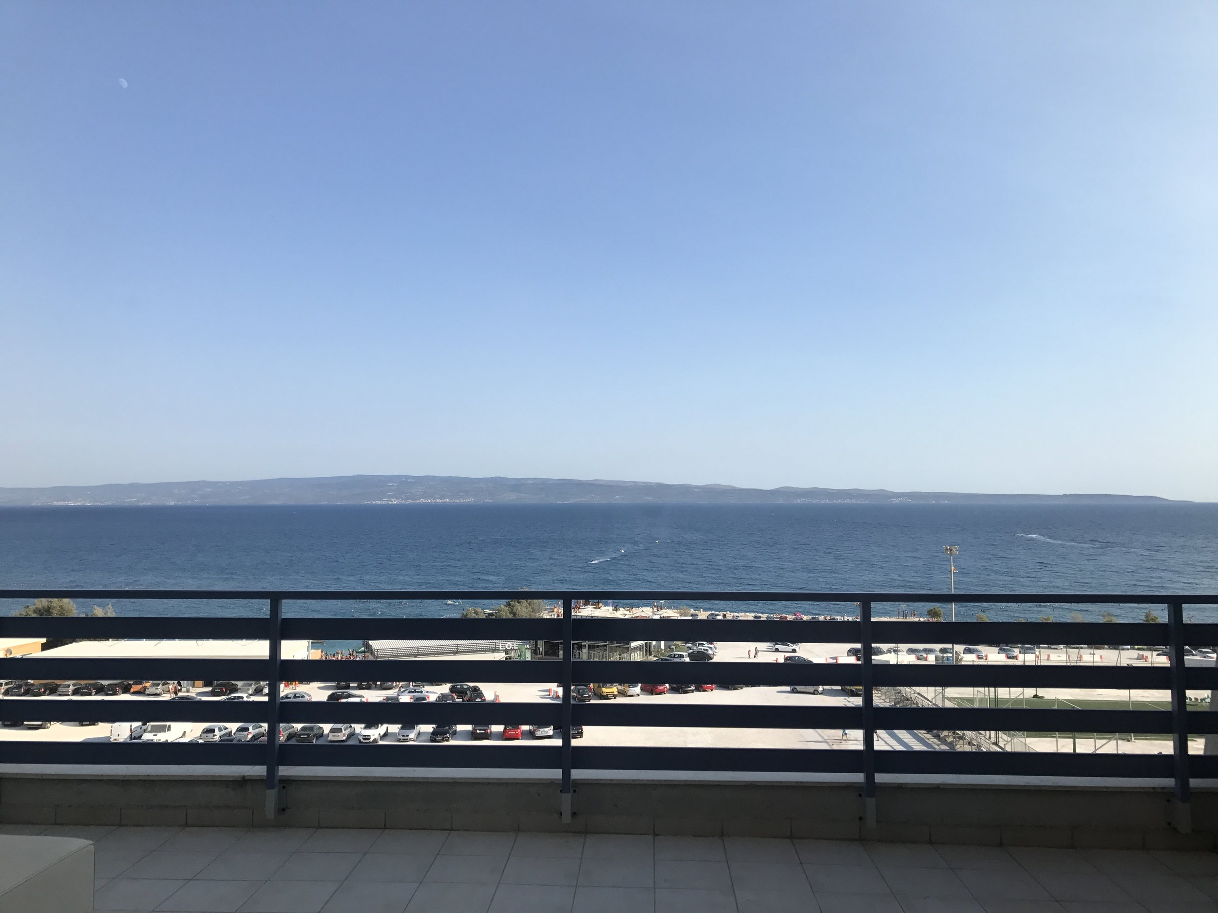 View from my penthouse apartment