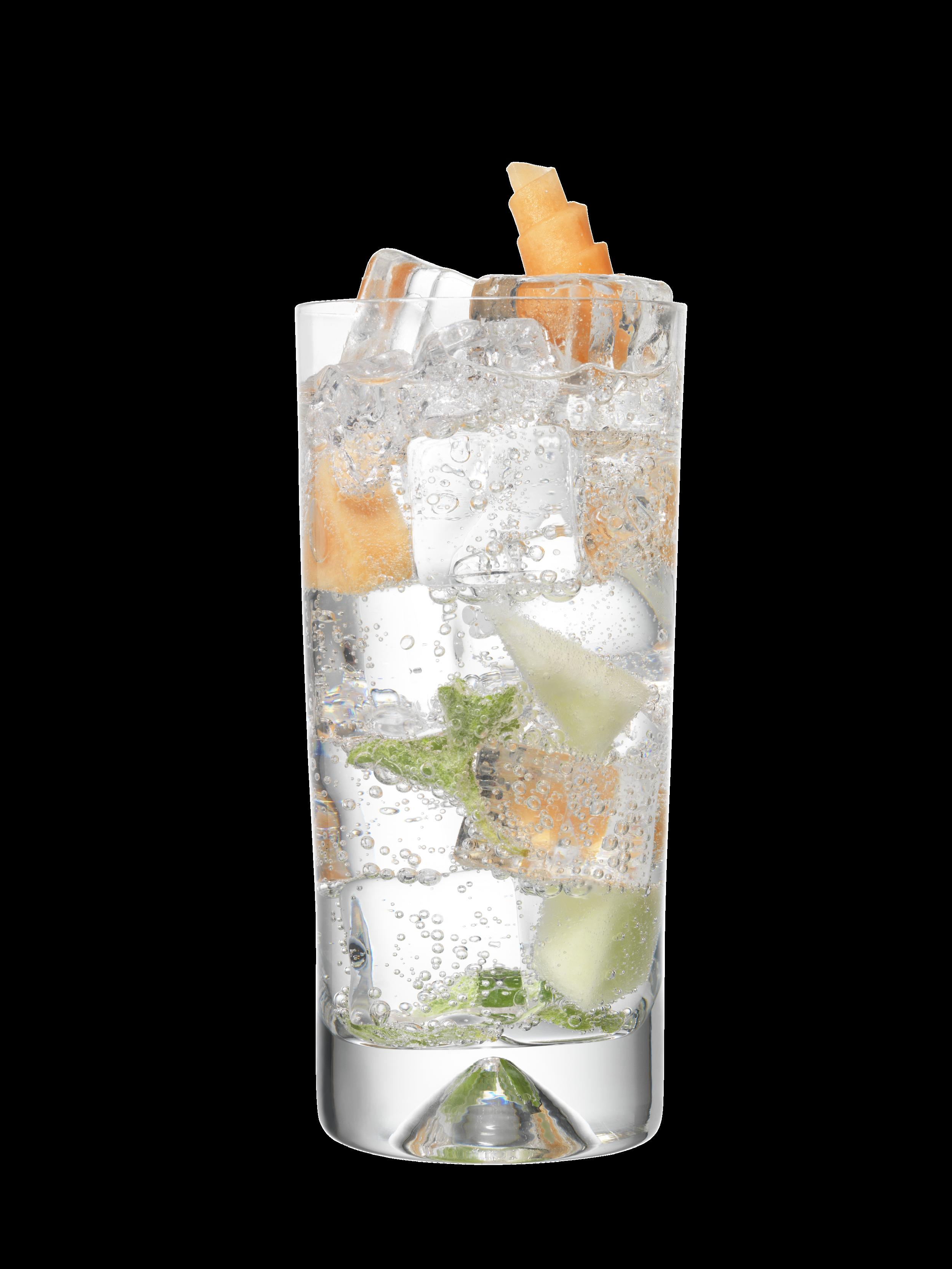 After The Rain - 50ml Fresh Rain Gin100ml Cucumber TonicPinch Fresh Oregano5 Melon Cubes