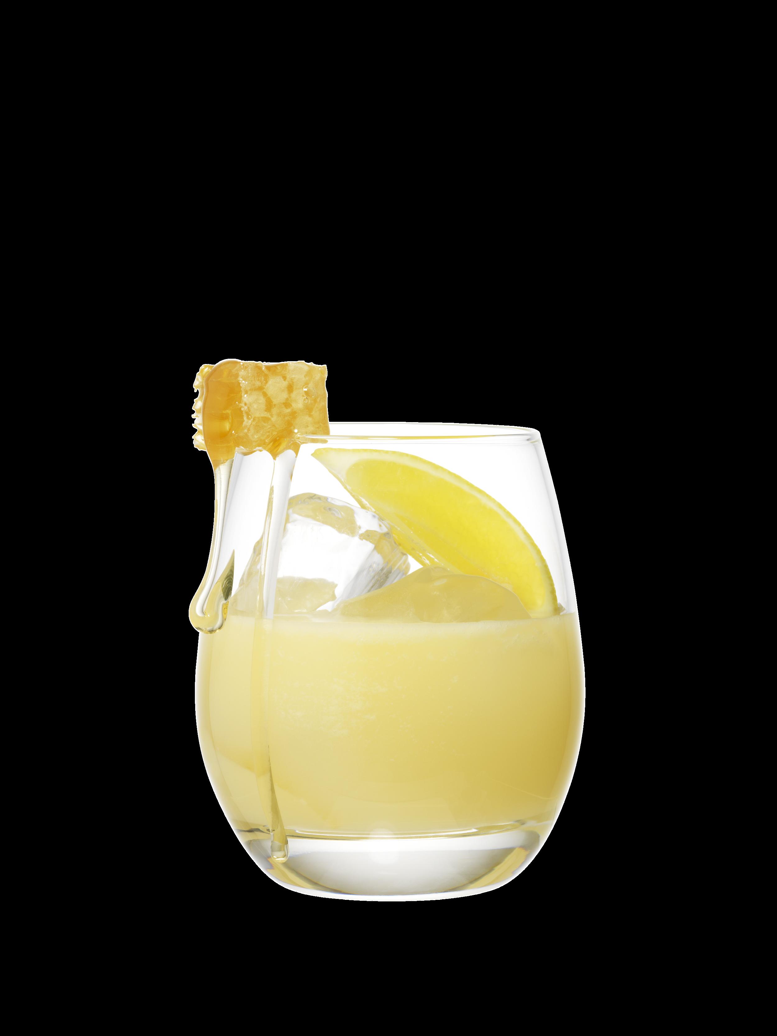 The Sacred Bee - 50ml Dead King Gin15ml Lemon Juice2tsp Lemon Curd1tsp Orange Blossom Honey