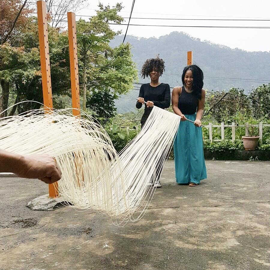 Noodle Making in Taipea, Tawain