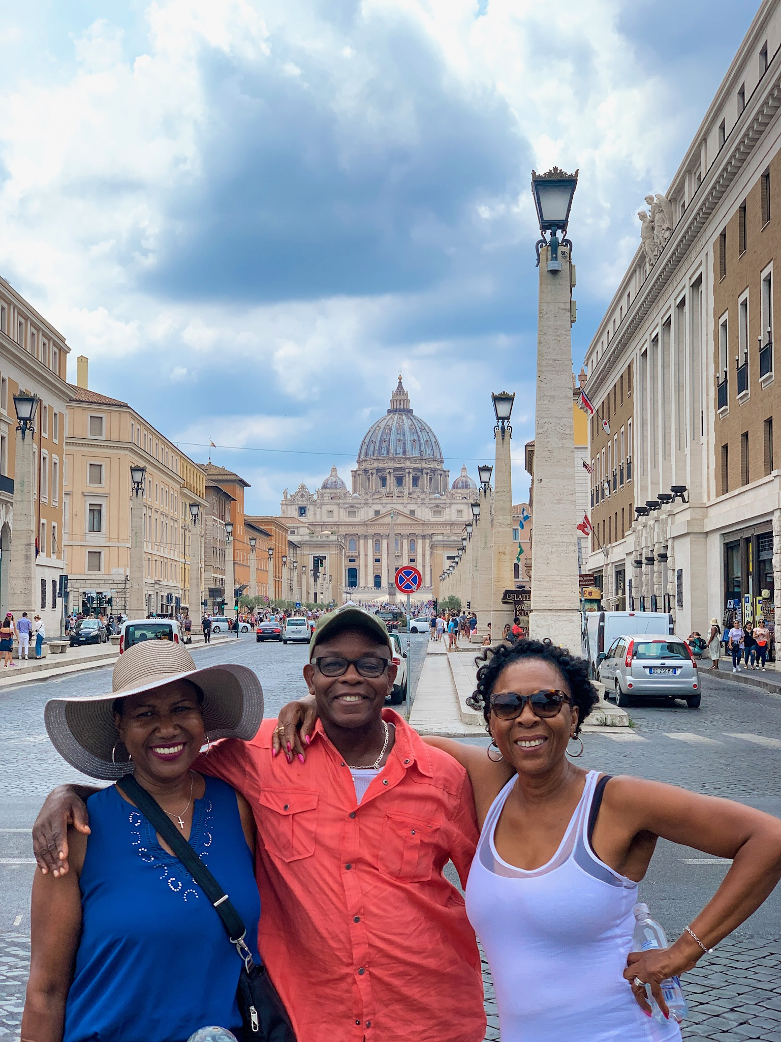 My mom, uncle, and aunt in Vatican City!