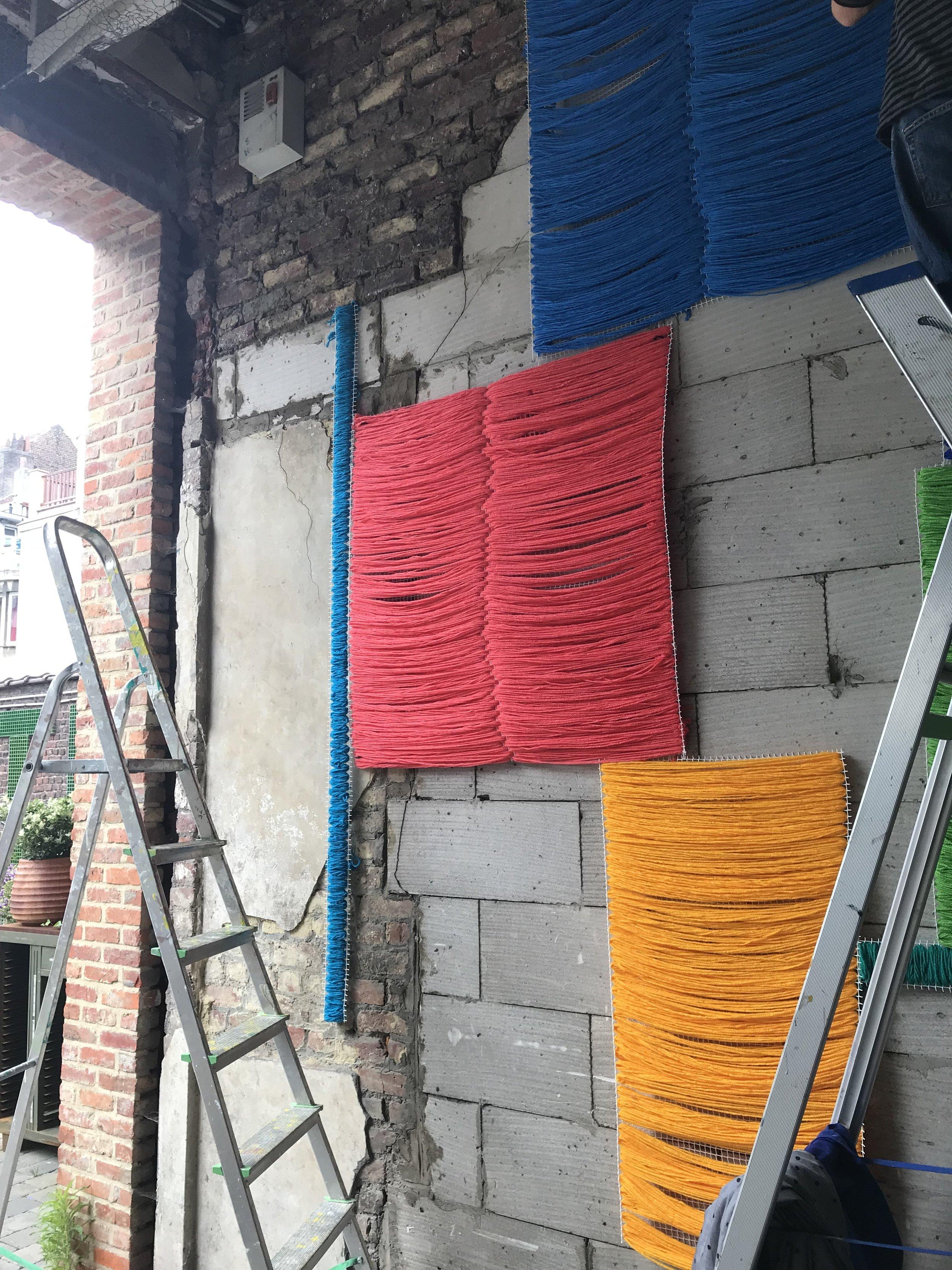 TIC TAC Art Centre Installation