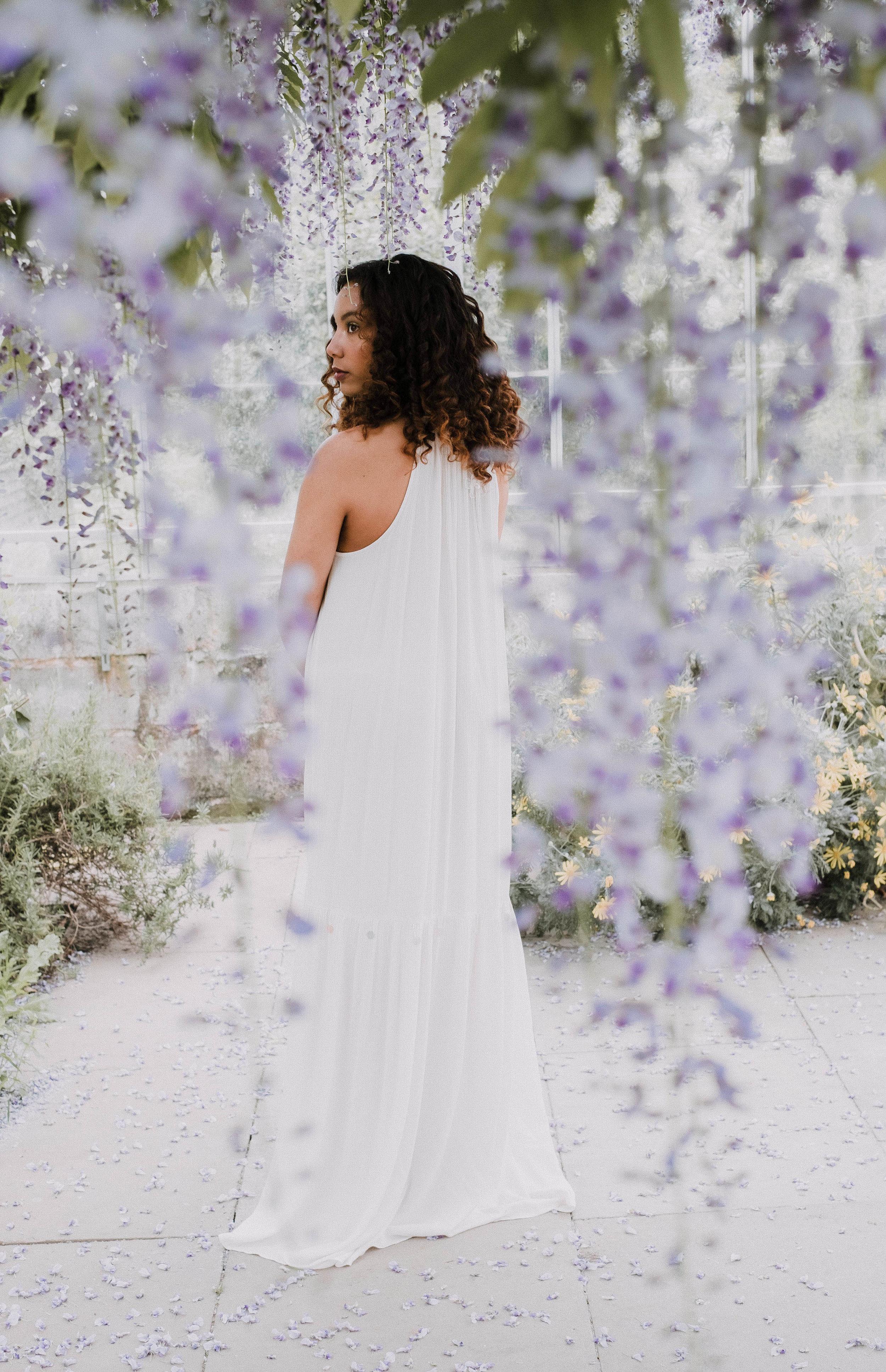 Cornish boho bride