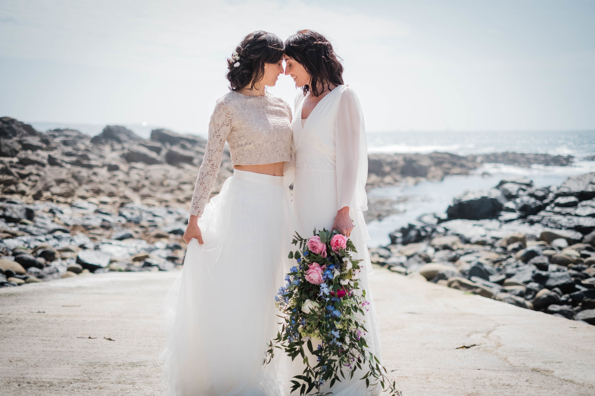 same sex wedding penzance