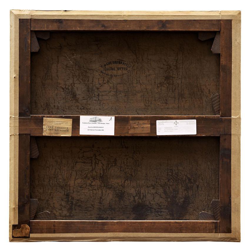 Philippe Gronon Verso n°10, Le Calvaire, Berthe Morisot, Collection particulière, Paris - 2005 Photographie analogique, épreuve numérique pigmentaire, 80 x 80 cm