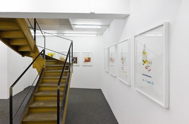 Vue d'exposition,  This is What it's Like,  2012, galerie Laurent Godin
