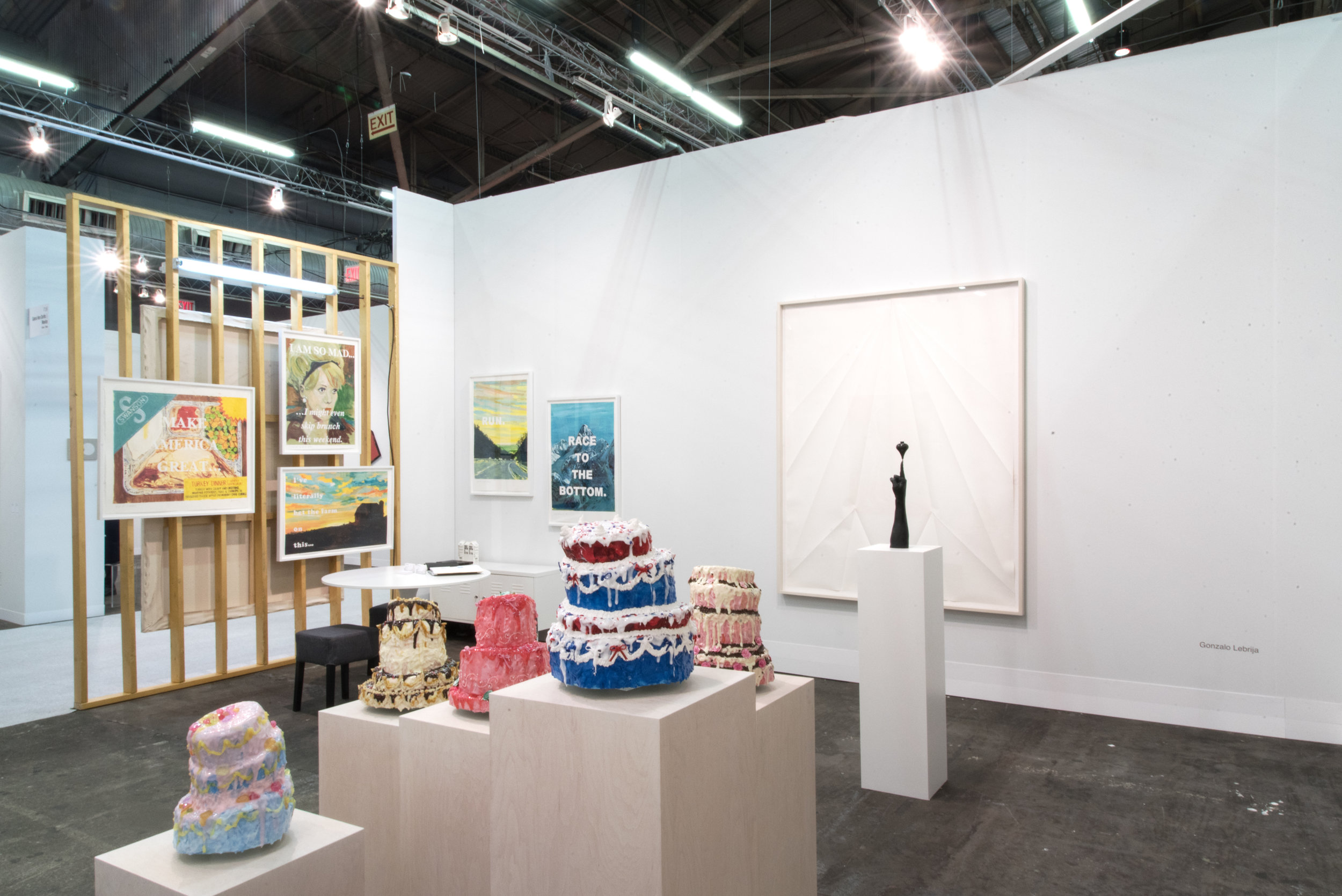 Fair view : Galerie Laurent Godin, Booth 719, March 2017
