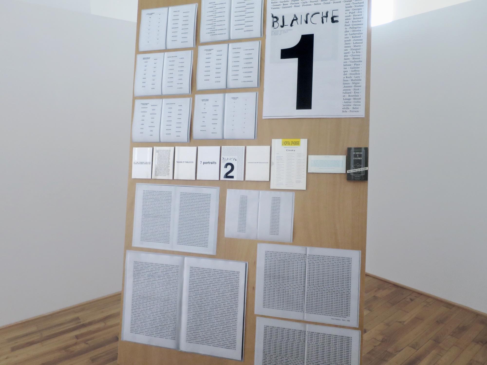 Claude Closky, 'ILUO,' Centre des livres d'artistes (CDLA), Saint-Yrieix-la-Perche. 23 June - 16 September 2017. Curated by Christian Lebrat, Didier Mathieu. Salle 1 entrée.jpg