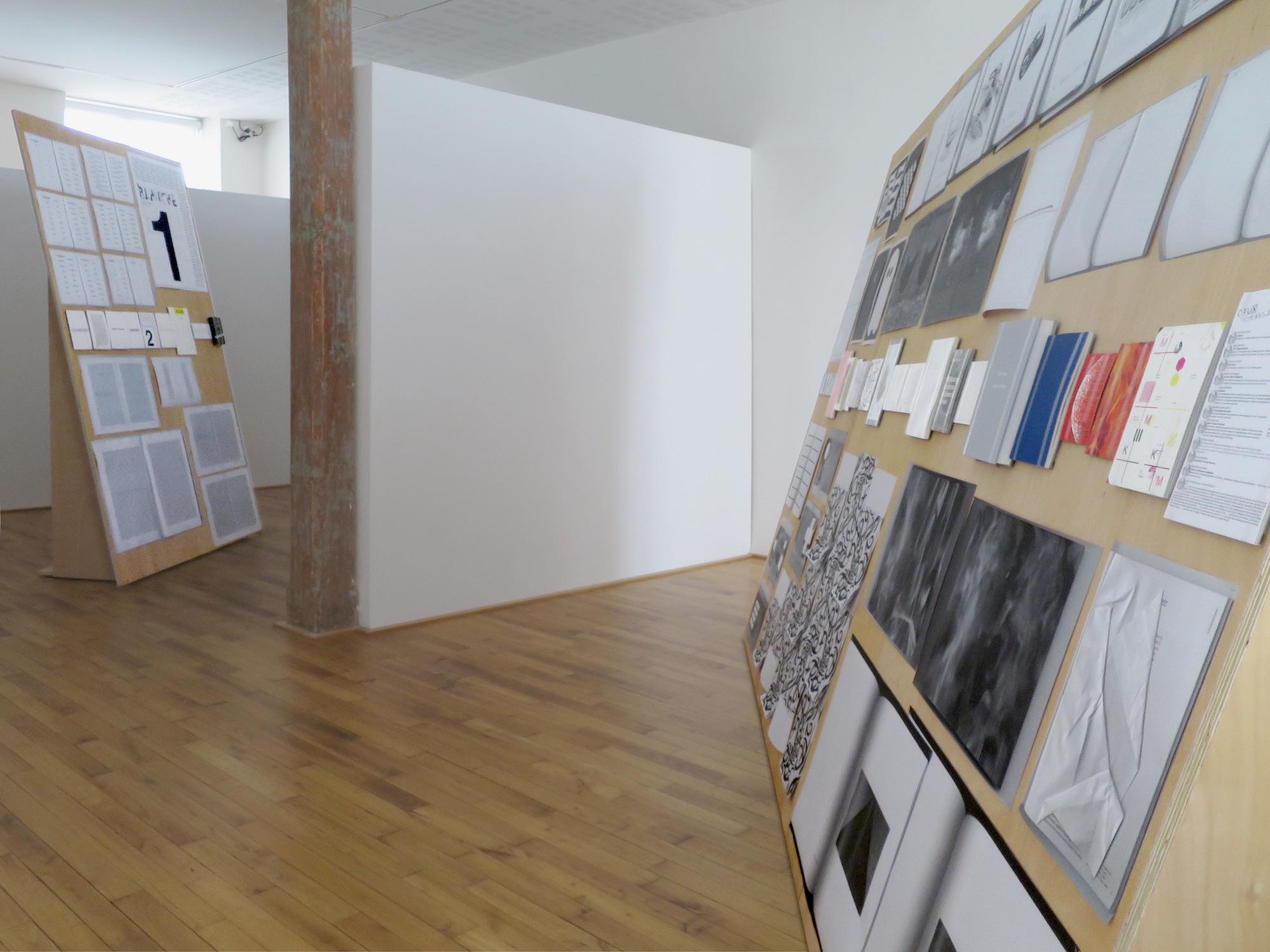 Claude Closky, 'ILUO,' Centre des livres d'artistes (CDLA), Saint-Yrieix-la-Perche. 23 June - 16 September 2017. Curated by Christian Lebrat, Didier Mathieu. Salle 2, salle 1.jpg