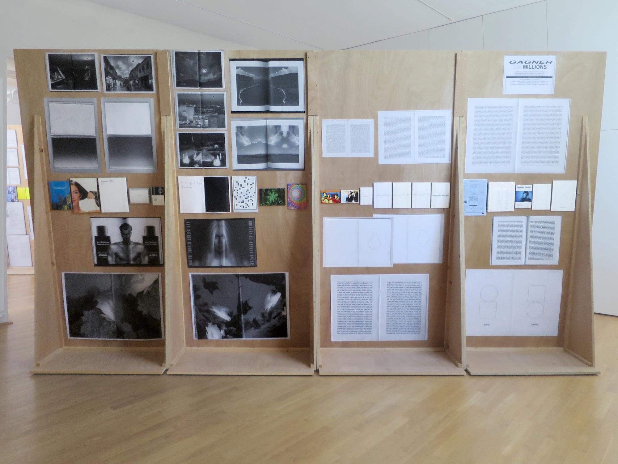 Claude Closky, 'ILUO,' Centre des livres d'artistes (CDLA), Saint-Yrieix-la-Perche. 23 June - 16 September 2017. Curated by Christian Lebrat, Didier Mathieu. Salle 3.jpg