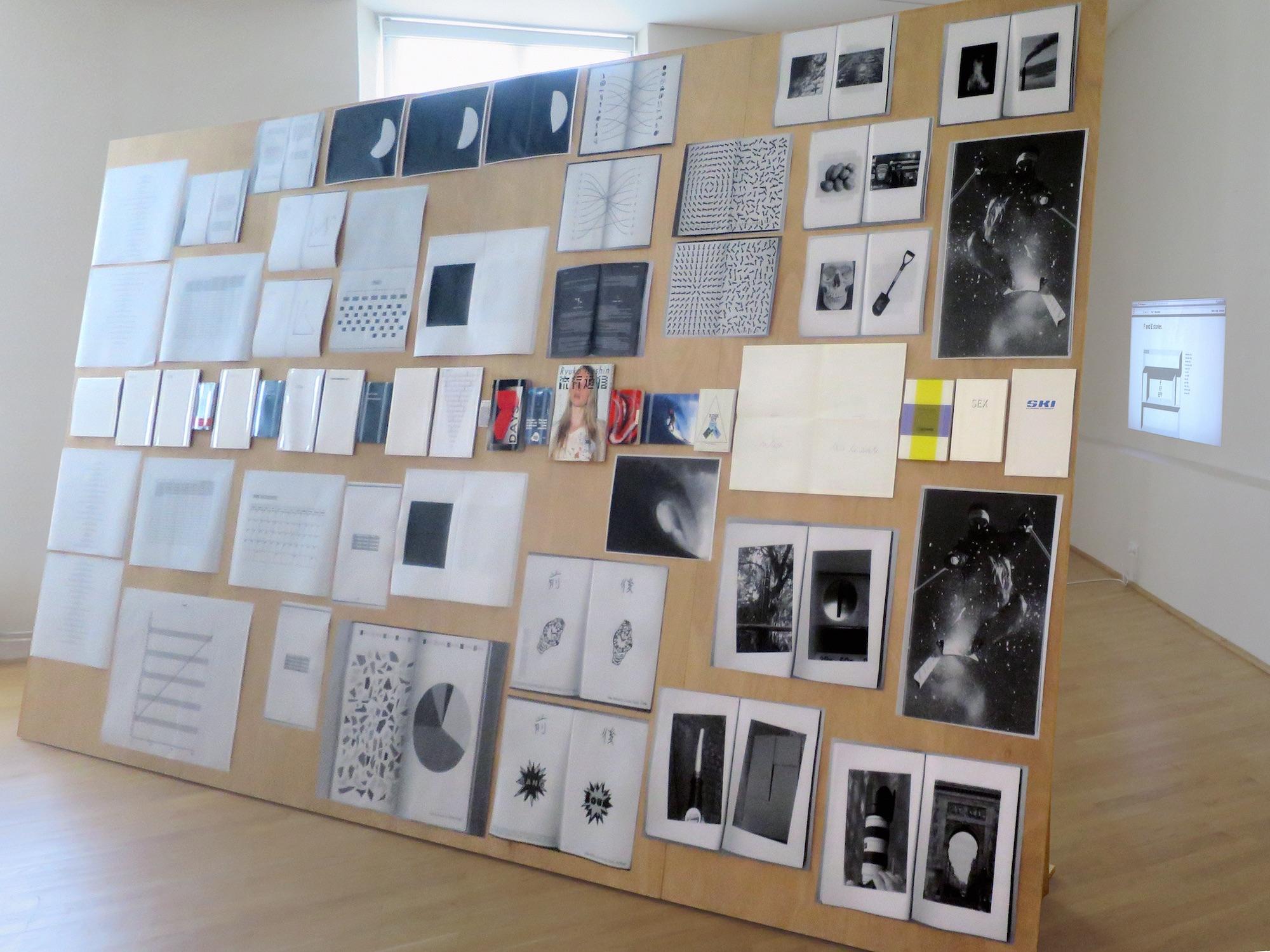 Claude Closky, 'ILUO,' Centre des livres d'artistes (CDLA), Saint-Yrieix-la-Perche. 23 June - 16 September 2017. Curated by Christian Lebrat, Didier Mathieu. Salle 3 entrée.jpg