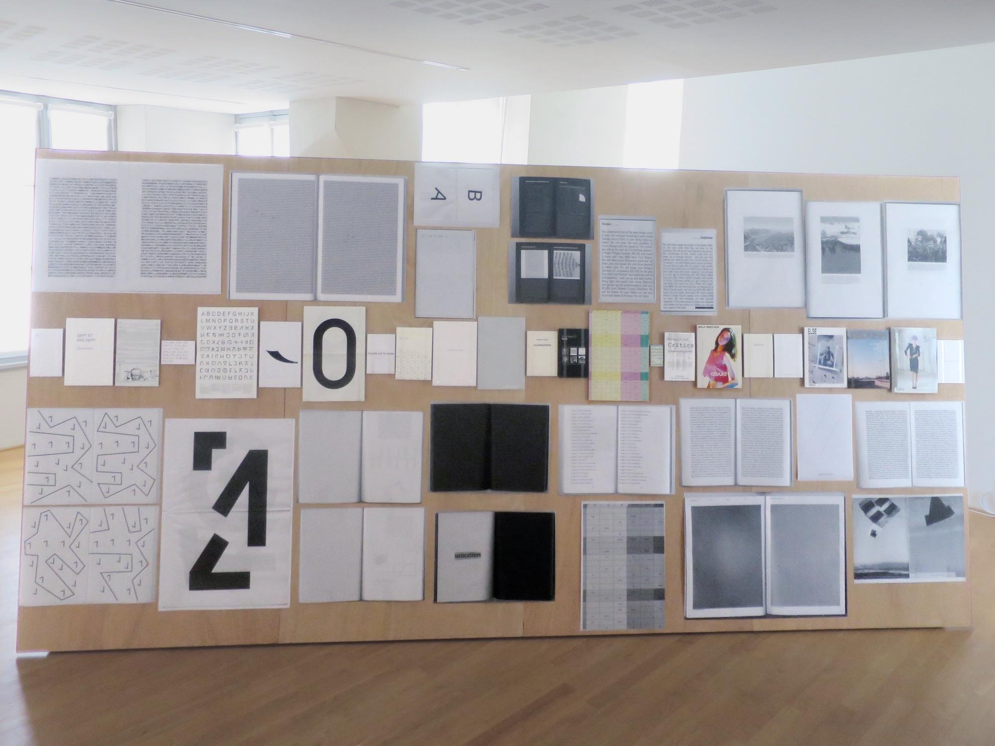 Claude Closky, 'ILUO,' Centre des livres d'artistes (CDLA), Saint-Yrieix-la-Perche. 23 June - 16 September 2017. Curated by Christian Lebrat, Didier Mathieu. Salle 4.jpg