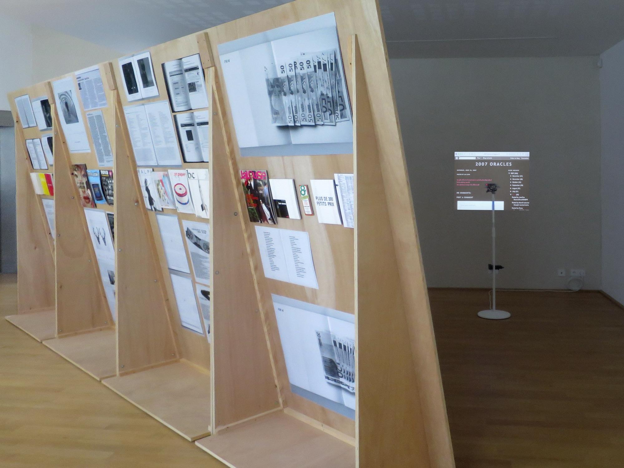 Claude Closky, 'ILUO,' Centre des livres d'artistes (CDLA), Saint-Yrieix-la-Perche. 23 June - 16 September 2017. Curated by Christian Lebrat, Didier Mathieu. Salle 4.2.jpg