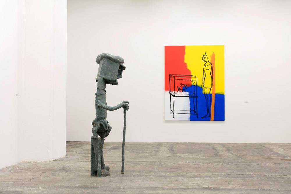 MARC COUTURIER SVEN 'T JOLLE MIKA ROTTENBERG ALAIN SECHAS Plastique 13.05.2017 - 22.07.2017 Galerie II