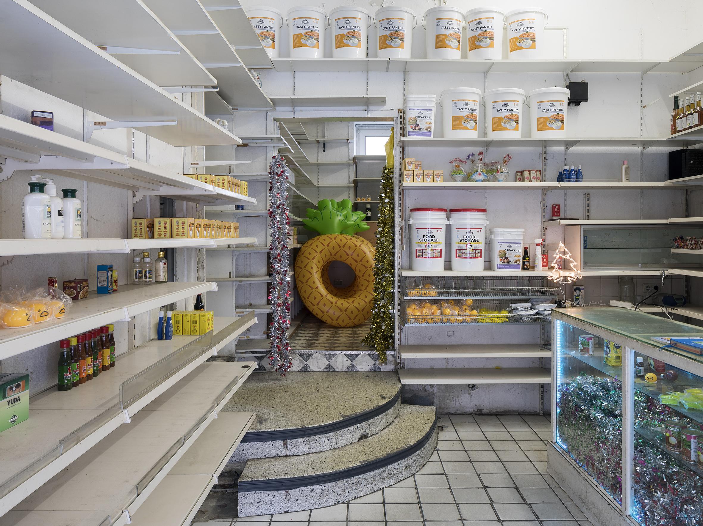 Exhibition view: Cosmic Generator, Skulptur Projekte, Münster, 2017