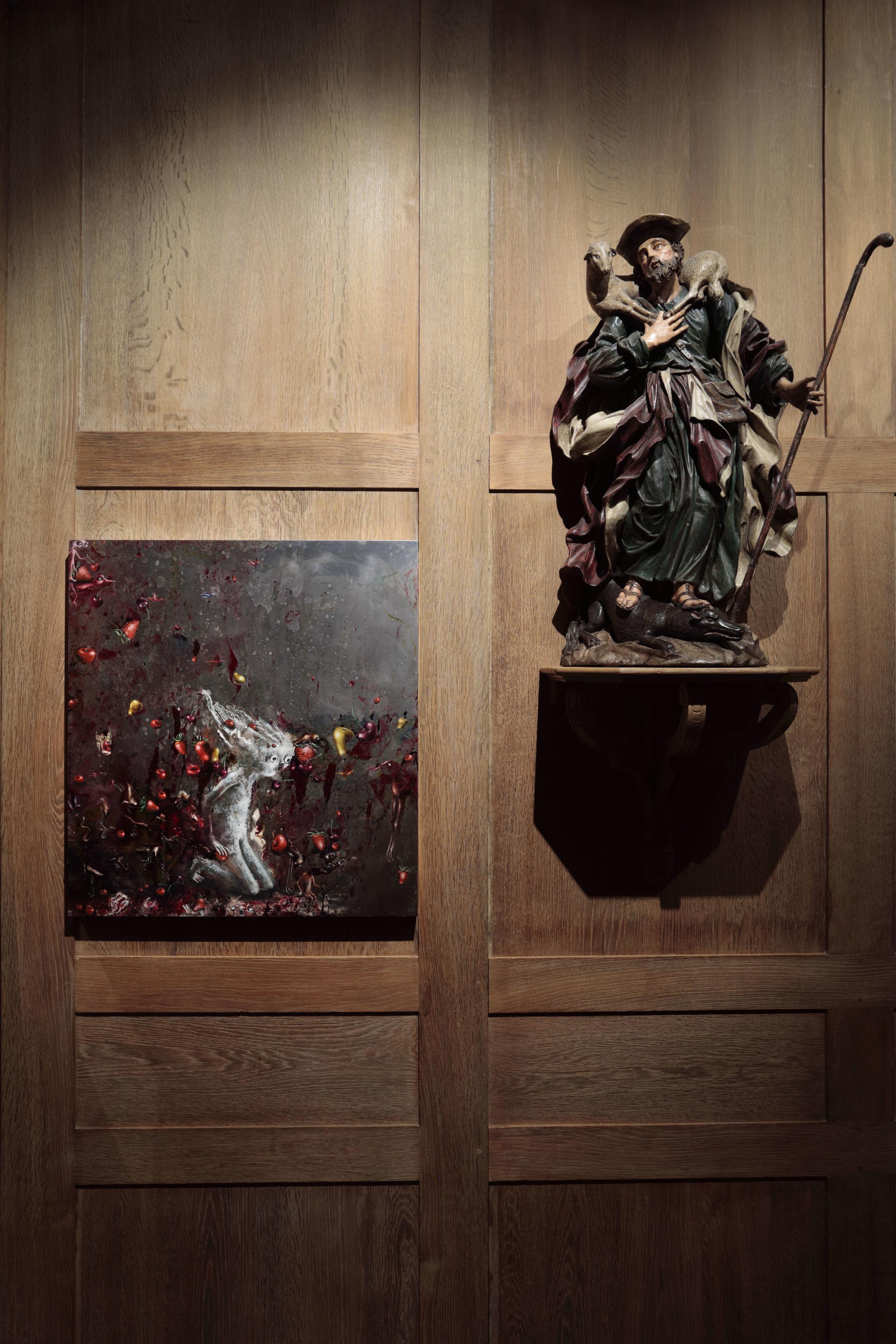 En plein coeur, Musée de la Chasse, Paris, 2018