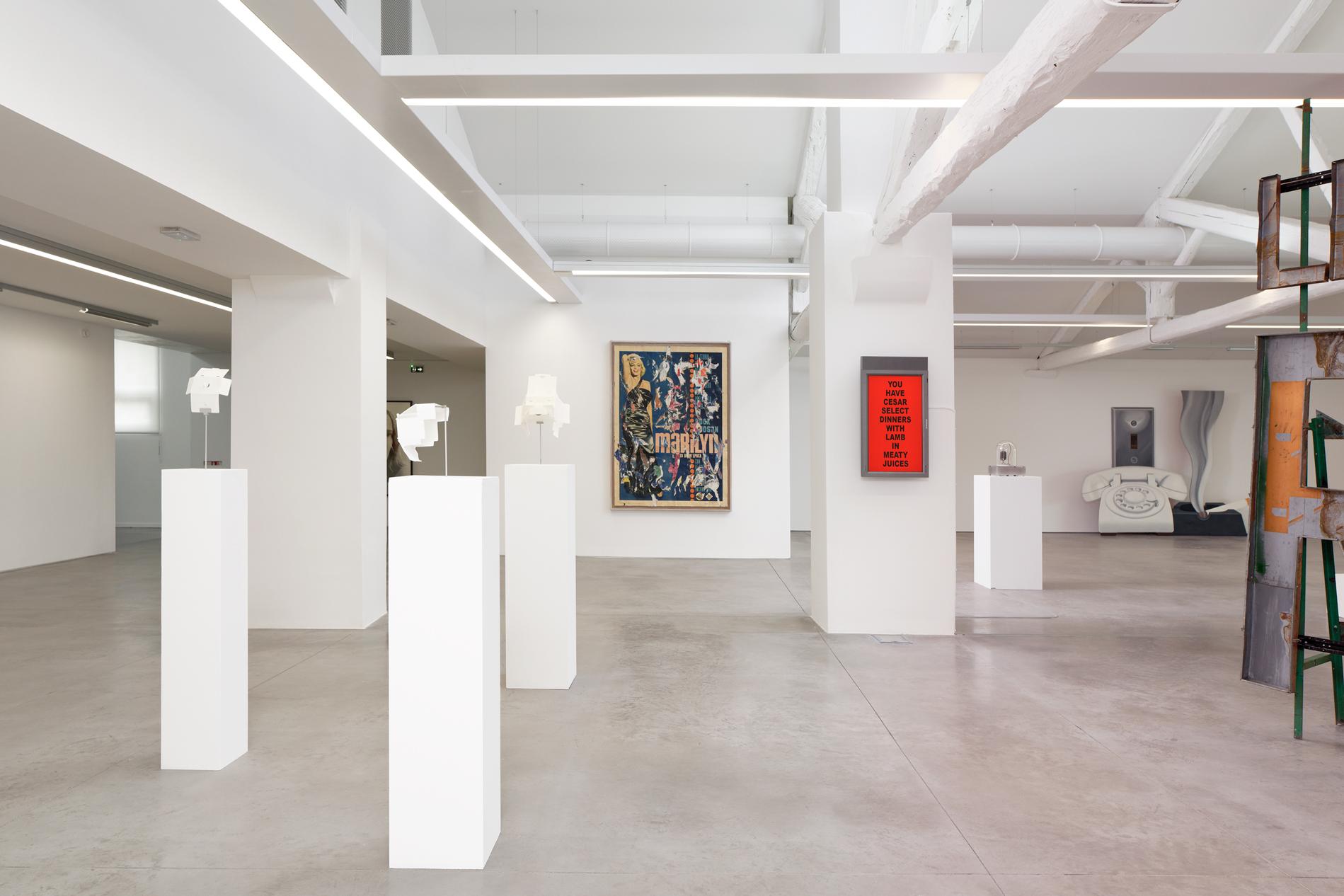 Vue d'exposition,  La Complainte du Progrès , MRAC Occitanie, Sérignan, 2018.