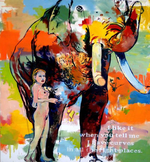 Untitled (Because I am Not Richard Prince), 2010