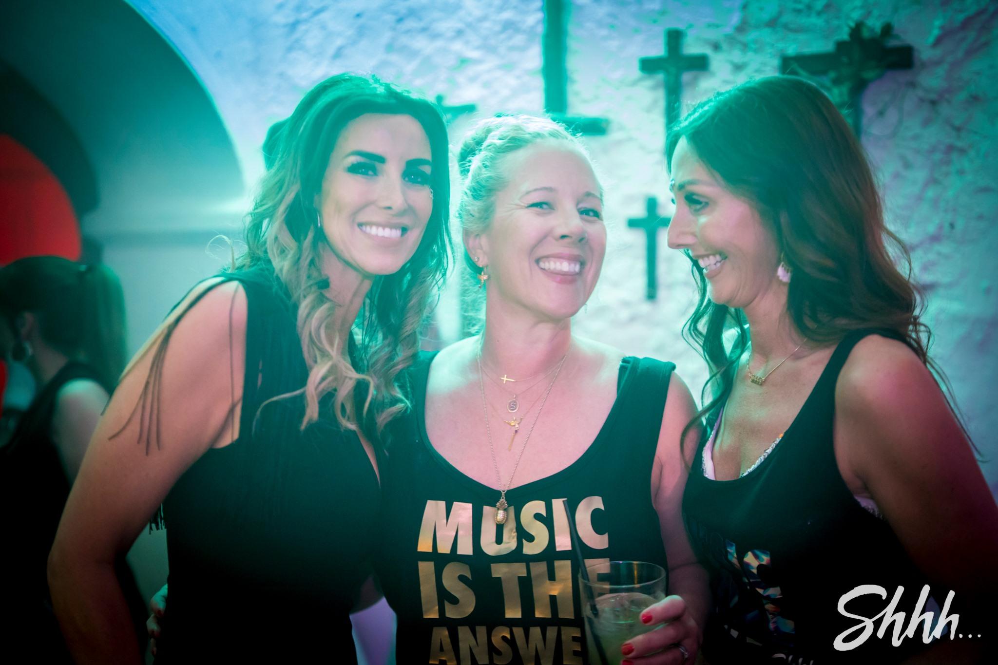 'Music is the answer' loyal Shhh... familia