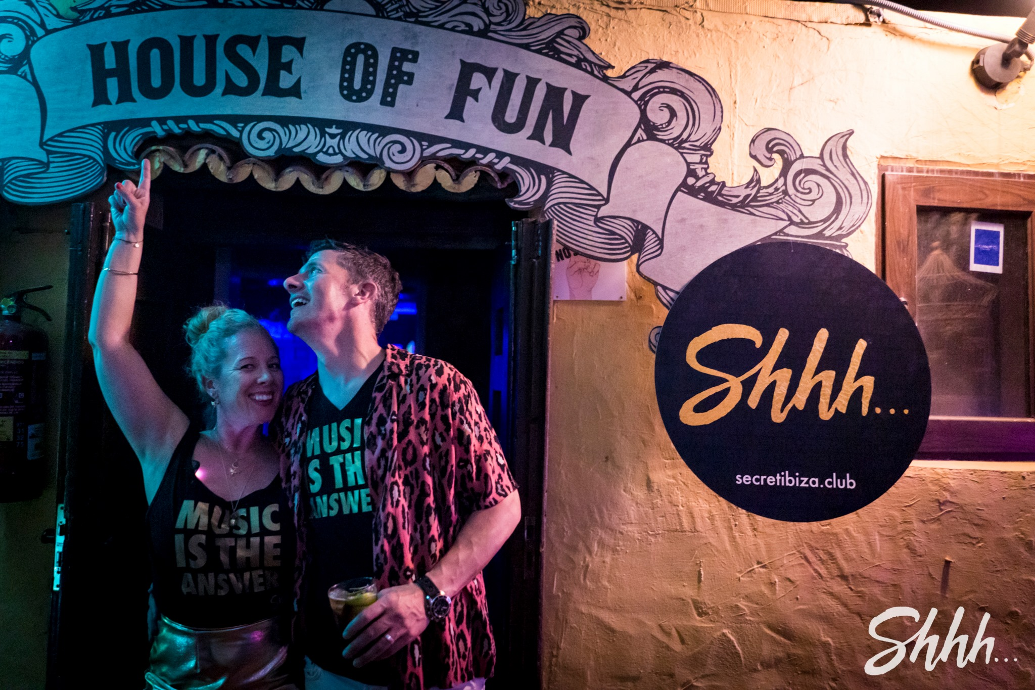 'Welcome to the house of fun' Shhh... promoters and power couple Justin and Sara Douglas
