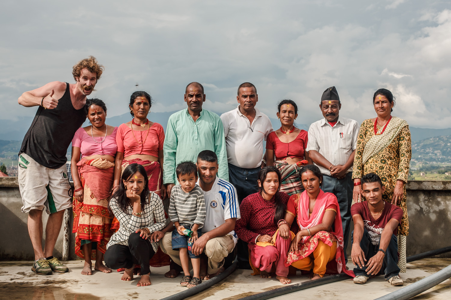 THE NEPALI FAMILY - (and a Yorkshireman)