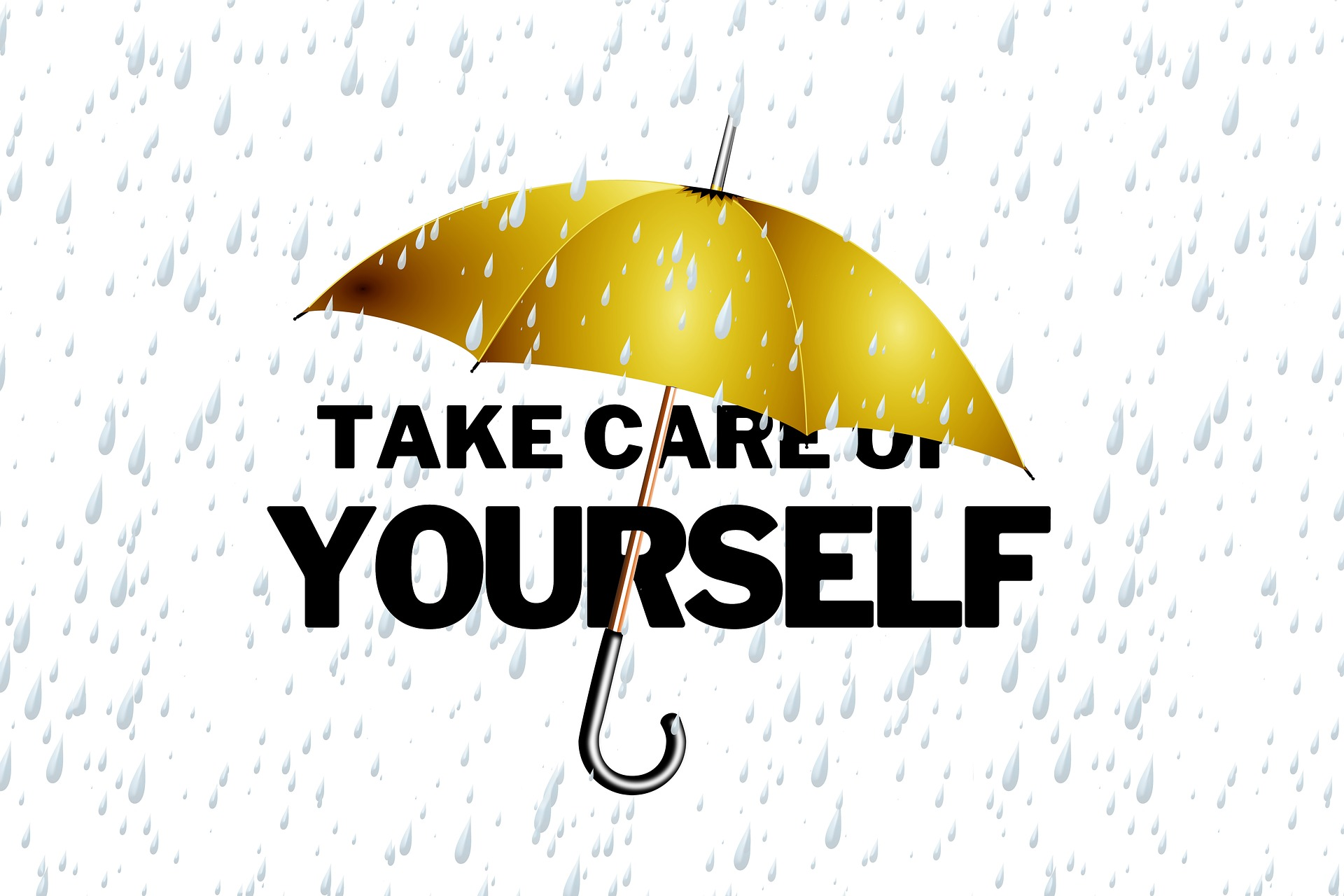 self-care yellow umbrella and words.jpg